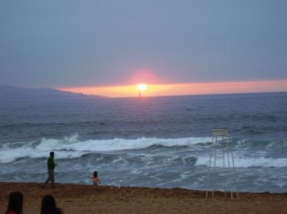 Sunset in Reñaca, Things to do in Chile