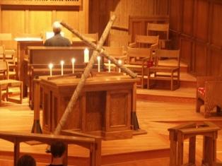 Cruz en Iglesia