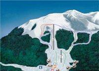 Mapa El Fraile, ski maps