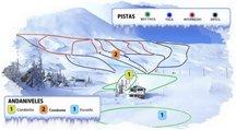 Pistas Antuco, ski maps