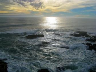 Ocean in Chile