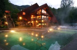 Huife Hot Springs, Hot Springs In Chile