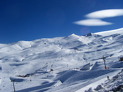 Valle Nevado, skiing in chile