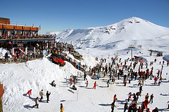 Ski Pucon, skiing in Chile