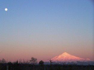 Villarrica Volcano from Lican Ray