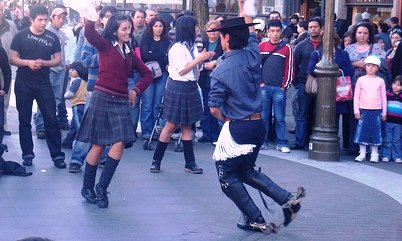 Dancing Cueca- Bailando Cueca