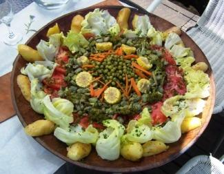 Salad In Lican, Chile Food