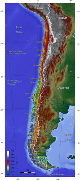 Geographie du Chili